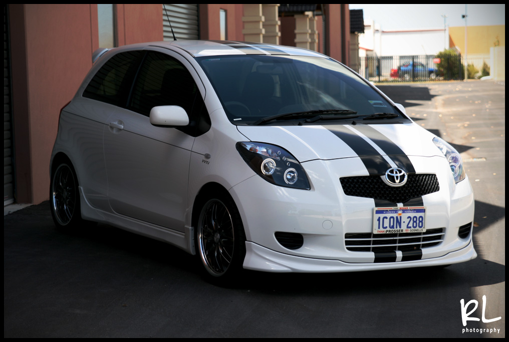 Small Photoshoot New Front Lip Toyota Yaris Forums