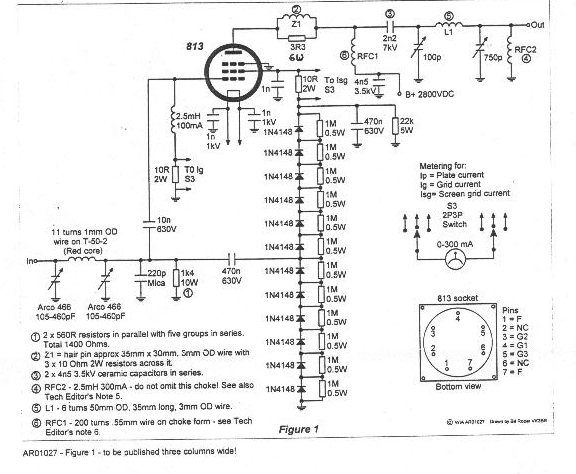 famous tube amplifier schematics