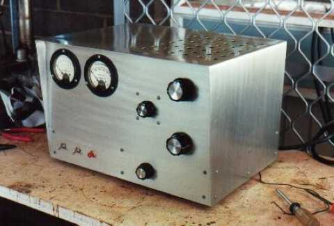 Two 813 Grounded Grid RF Amplifier