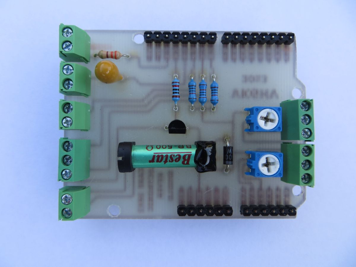 Picaxe401 Morse Code Shield Simple Electronic Keyer The Commercially Made Double Sided Peks Picaxe Board